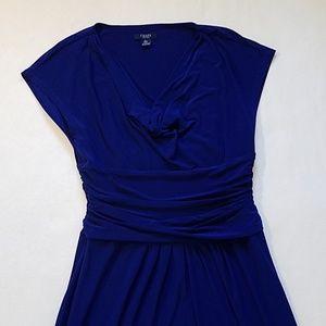 Chaps blue/navy dress